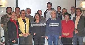 Vertreter der Bürgerinitiative gegen Steinabbau (BigS) aus Sundern